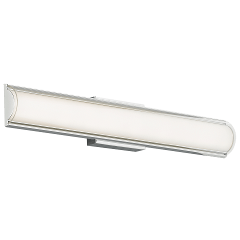 Jaxon Bath Clear chrome 3000K 80 CRI led 80 cri 3000k 120v