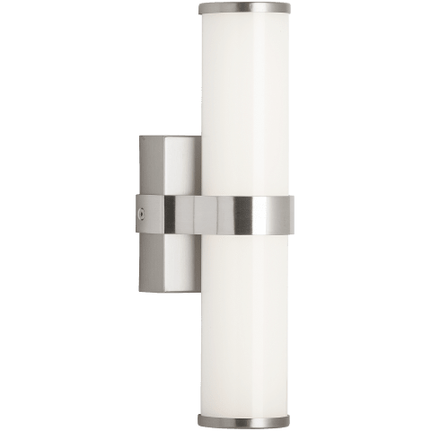 Lynk 12 Wall satin nickel 3000K 90 CRI integrated led 90 cri 3000k 120v