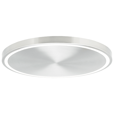 Crest 20 Ceiling 20 satin nickel 3000K 90 CRI integrated led 90 cri 3000k 120v