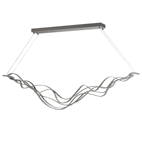 Surge Linear Suspension satin nickel 3000K 80 CRI led 80 cri 3000k 120v
