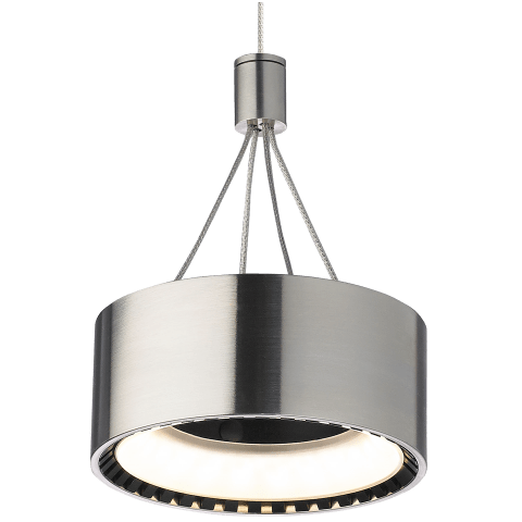 Corum Pendant MonoPoint satin nickel 3000K 80 CRI 12 volt led 80 cri 3000k