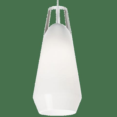 Lustra Pendant MonoPoint White satin nickel 3000K 90 CRI 12 volt led 90 cri 3000k (t20/t24)