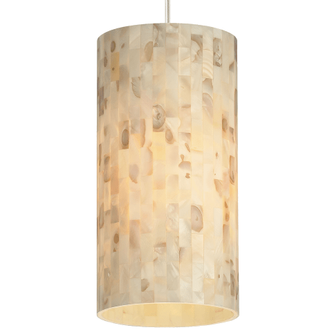 Playa Pendant MonoPoint Natural satin nickel 3000K 90 CRI 12 volt led 90 cri 3000k (t20/t24)