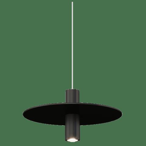 Mini Ponte Pendant MonoPoint nightshade Black 3000K 90 CRI Integrated LED 3000k 12v
