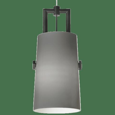 Revere Pendant MonoPoint Smoke black/satin nickel 12 volt xenon (t20)