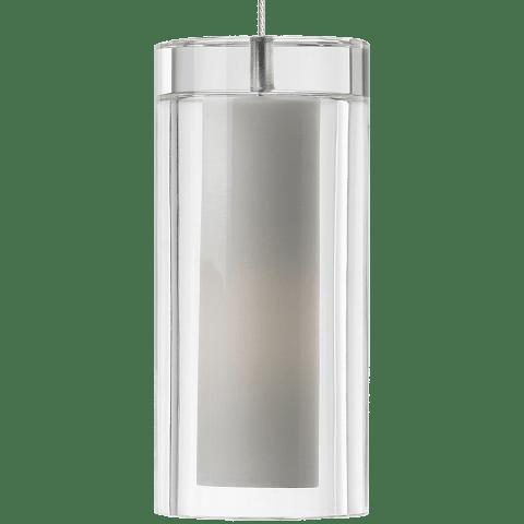 Sara Pendant MonoPoint Clear satin nickel 12 volt halogen (t20)