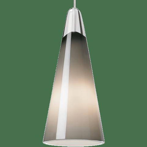 Selina Pendant MonoPoint Smoke satin nickel 12 volt halogen (t20)