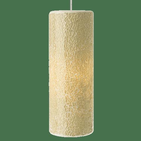 Veil Pendant MonoPoint Latte/Gold satin nickel 12 volt halogen (t20)
