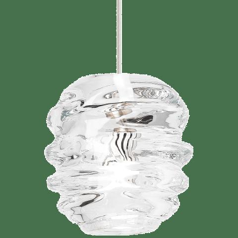 Audra Pendant Clear satin nickel 3000K 90 CRI 12 volt led 90 cri 3000k (t20/t24)