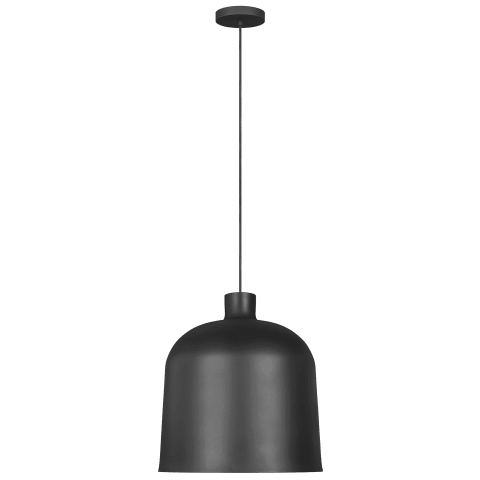 Foundry Pendant nightshade black 3000K 90 CRI integrated led 90 cri 3000k 120v