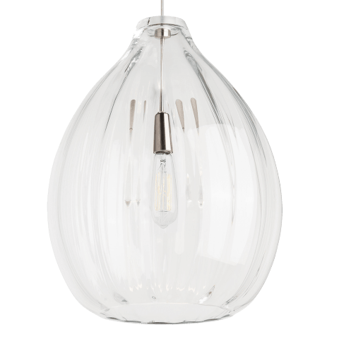 Harper Pendant Clear satin nickel 2700K 90 CRI led 90 cri 2700k 120v (t24)