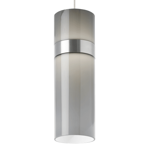 Manette Grande Pendant Smoke Glass satin nickel/satin nickel 3000K 90 CRI led 3000k 120v