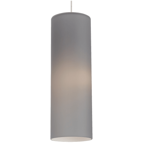 Mati C18 Pendant Smoke satin nickel no lamp