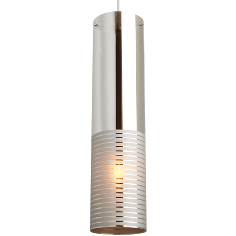 Matan Grande Pendant Metallic Chrome satin nickel 2700K 90 CRI t16 led 90 cri 2700k 120v (t20/t24)