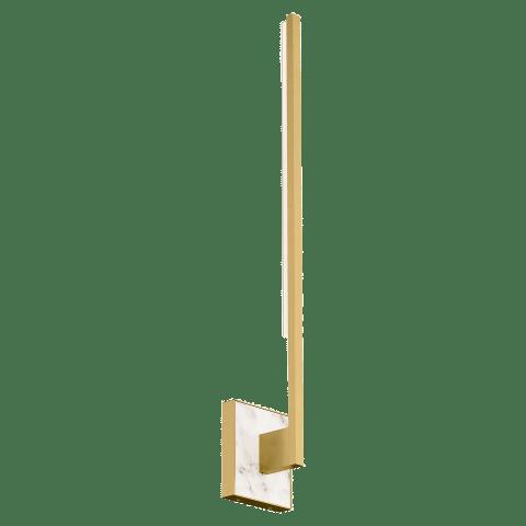Klee 30 Wall natural brass 3000K 90 CRI integrated led 90 cri 3000k 120v