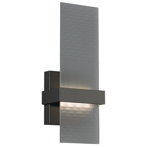 Mura Wall Smoke Glass antique bronze 3000K 80 CRI led 80 cri 3000v 120v
