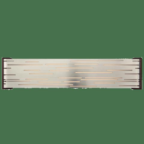Revel Linear Wall Satin Nickel 2700K 90 CRI led 80 cri 2700k 120v