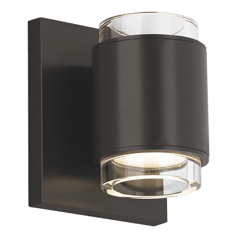 Voto Wall Round Clear antique bronze 3000K 80 CRI led 80 cri 3000k 120v