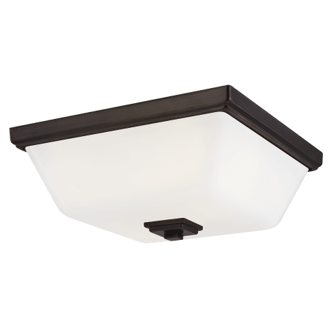 Ellis Harper Two Light Flush Mount Brushed Oil Rubbed Bronze