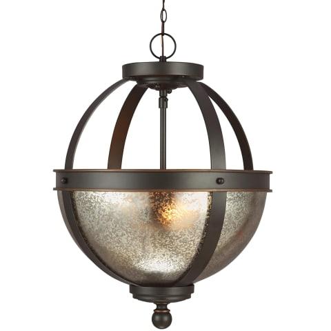 Sfera Two Light Semi-Flush Convertible Pendant Autumn Bronze