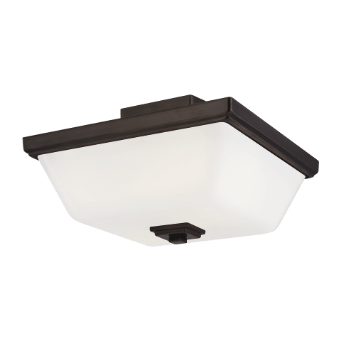 Ellis Harper Two Light Semi-Flush Mount Brushed Oil Rubbed Bronze
