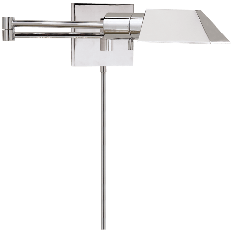 Studio Swing Arm Wall Light in Polished Nickel