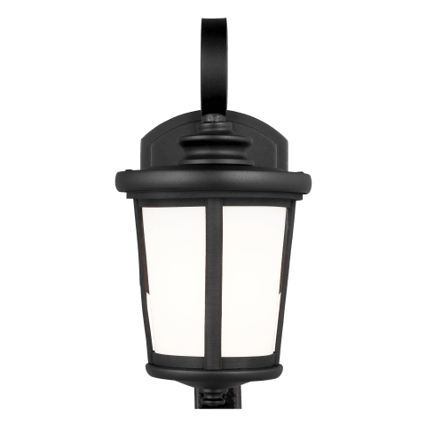 Eddington Small One Light Outdoor Wall Lantern Black