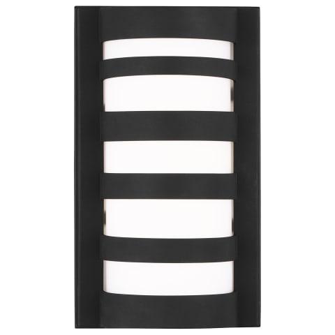 Rebay Small LED Outdoor Wall Lantern Black