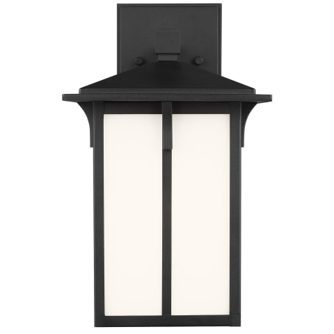 Tomek Small One Light Outdoor Wall Lantern Black Bulbs Inc