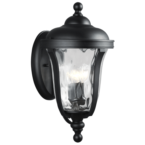 Perrywood Large Three Light Outdoor Wall Lantern Black