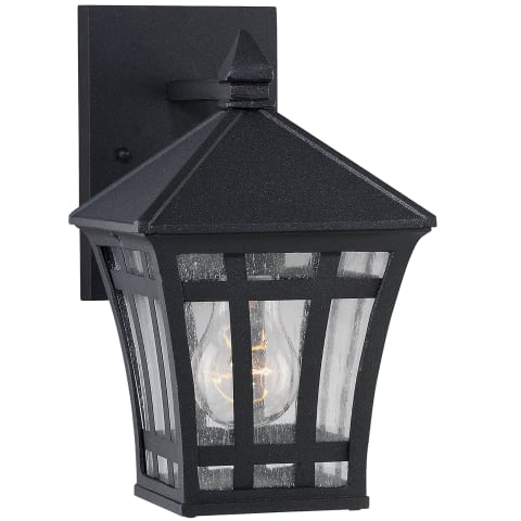 Herrington One Light Outdoor Wall Lantern Black