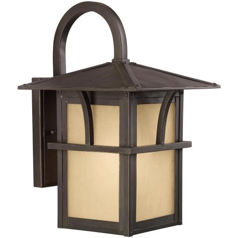 Medford Lakes One Light Outdoor Wall Lantern Statuary Bronze Bulbs Inc