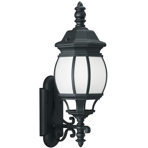 Wynfield One Light Outdoor Wall Lantern Black Bulbs Inc