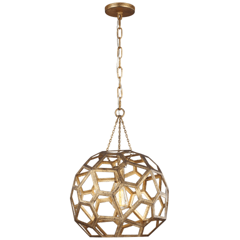 Feccetta Medium Pendant Antique Gild