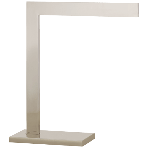 Lecce Desk Lamp in Polished Nickel