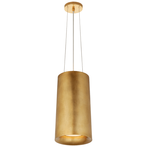 Halo Tall Hanging Shade in Gild