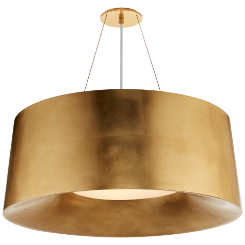 Halo Medium Hanging Shade in Gild