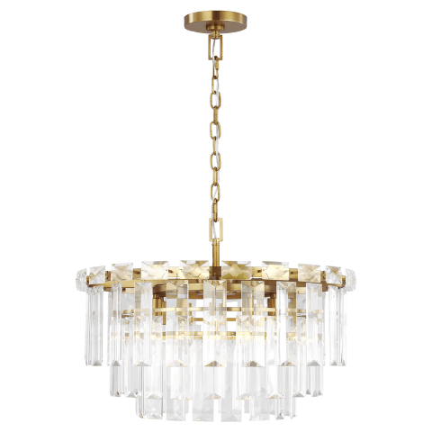 Arden Medium Chandelier Burnished Brass
