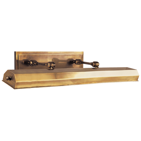 """Dorchester 30"""" Picture Light in Antique-Burnished Brass"""