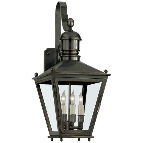 Sussex Small Bracket Lantern in Bronze