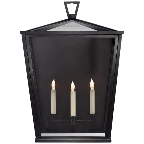 Darlana Large 3/4 Lantern in Bronze