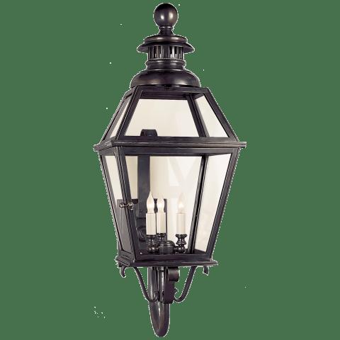 Chelsea Large Lantern in Bronze