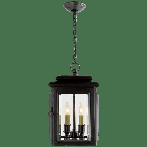 Kensington Medium Hanging Lantern in Bronze