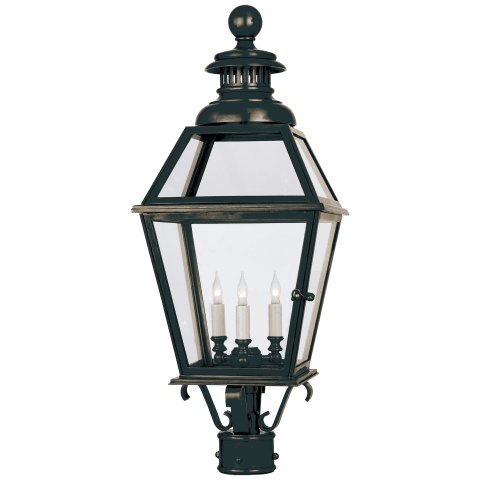 Chelsea Large Post Lantern in Bronze