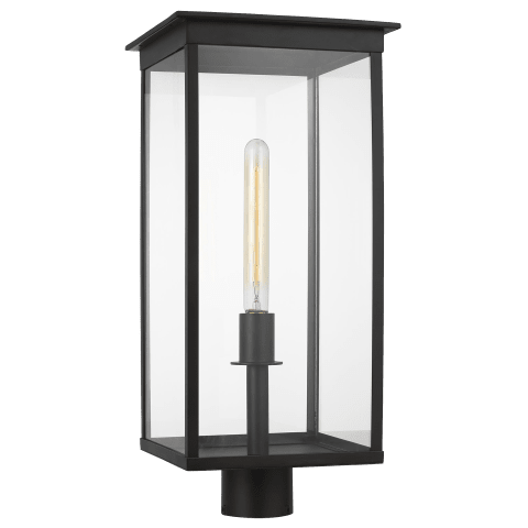 Freeport 1 - Light Outdoor Post Lantern Heritage Copper