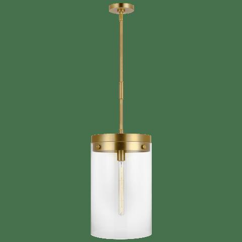 Garrett Large Cylinder Pendant Burnished Brass