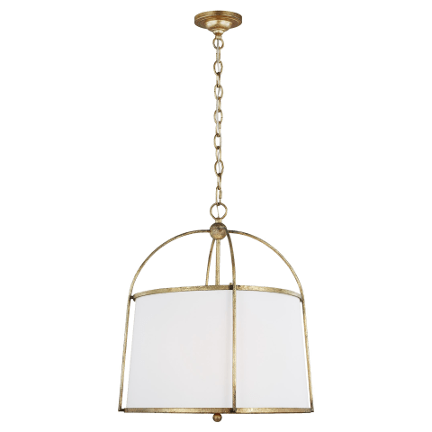 Stonington Hanging Shade Antique Gild