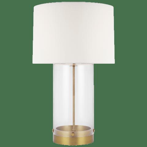 Garrett Table Lamp Burnished Brass Bulbs Inc