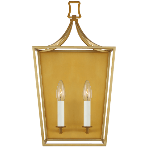Southold 2 - Light Wall Sconce Burnished Brass