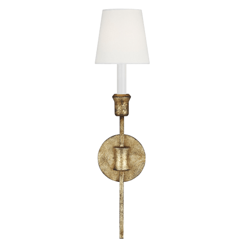 Westerly 1 - Light Wall Sconce Antique Gild